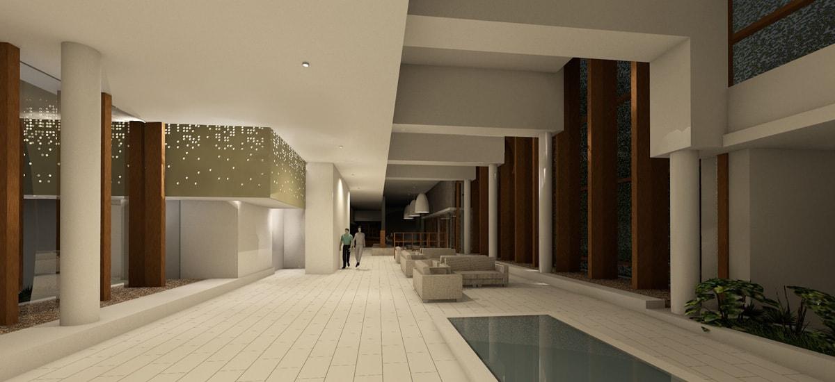 Proyecto interior Hotel Catalonia
